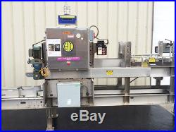 Hartness Model 2600 Continuous Motion Case Packer with Change Parts