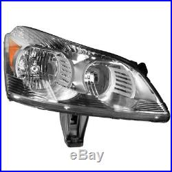 Headlight Lamp Left & Right Pair Set of 2 for 09-12 Traverse LS & LT Models