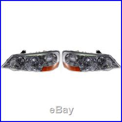 Headlight Set For 2002-2003 Acura TL Type-S Model Left and Right HID 2Pc