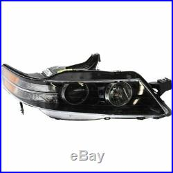 Headlight Set For 2007-2008 Acura TL Type-S Model Left and Right 2Pc