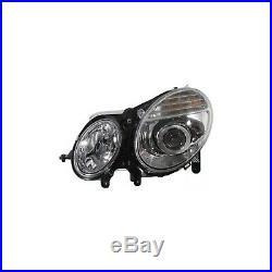 Headlight Set For 2007-2009 Mercedes Benz E350 E550 Left & Right with bulb