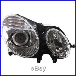 Headlight Set For 2007-2009 Mercedes Benz E350 E550 Left & Right with bulb