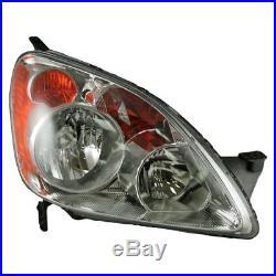 Headlights Headlamps Left & Right Pair Set for 05-06 CRV (Japan Built Models)