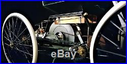 Henry Ford Original Concept Car Before Model T with Engine Motor & Spoke Wheels A