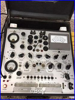 Hickok Model 539C Tube Tester with manual and parts
