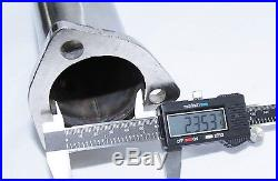High Flow Cat-Delete Downpipe Test Pipe for 2006-2008 Audi A4 2.0T B7 Model ONLY