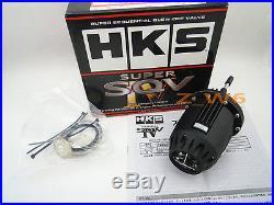 Hks Universal Black Blow Off Valve Bov Sqv Ssqv S2000 Gti Wrx Sti Evo Mr2 240sx