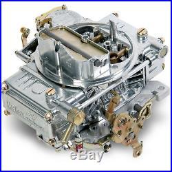 Holley 0-1850SA Carburettor Model 4160 600 cfm Square Bore Manual Choke 4-Barrel