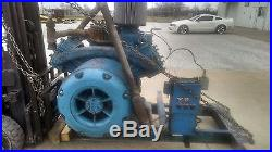 Ingersoll Rand Model 40T 50 HP Air compressor s/n 14613 and large Lot of parts