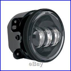 JW Speaker Model 6145 Front Bumper LED Fog Light Black 07-13 Jeep Wrangler JK