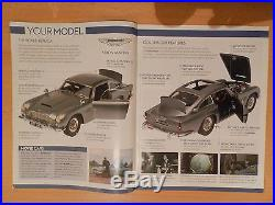 James Bond 007 DB5 Aston Martin Scale 18 Classic Model Car 86 Parts Eaglemoss