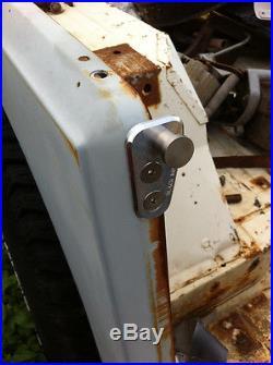 Jeep CJ7 76-80 Door Striker to fit Late Model Doors Door Pin Adapter CJ 7