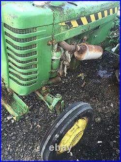 Johndeere 1952 Model M Tractor Deere John Machine Parts Or Fix