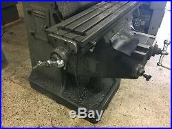 KBC Model TUM-1VS Vertical mill, parts machine