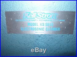 Kelstrom Electrosonic Parts Cleaner Model KS5518