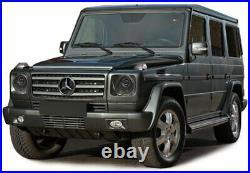 Klarglas Projektor Scheinwerfer Facelift schwarz für Mercedes G Modell W463