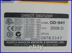 Konica Minolta Regius Model 170 For Parts/AS-IS