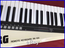 Korg RK-100 Remote MIDI Keyboard Cream White Model (Parts Or Repair)