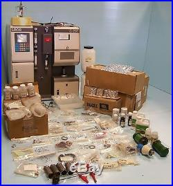 LECO C-200 CARBON ANALYZER MODEL# 605-700 WITH MANUALS AND SPARE PARTS