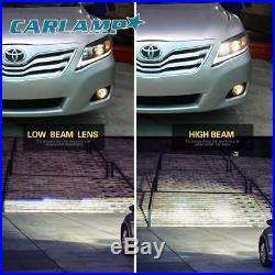 LED DRL Projector Lexus Model Black Headlights For Toyota Camry 2010 2011