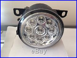 LED Front fog lights Vauxhall Astra VXR MODEL ONLY DRL LAMPS plug and play