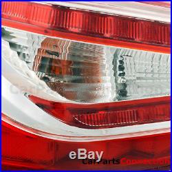 LED Tail Light Lamp ABS Chrome Red JDM For 13-15 Nissan Altima Teana Sedan 14