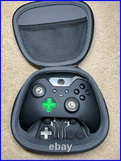LOT of 10 Microsoft Xbox One Elite Wireless Controller 1 Model 1698 FOR PARTS