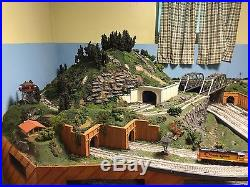 Large Working Model Train Set Complete With Many Spare Parts. 165X112 1980s