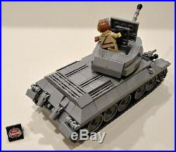 Lego Brickmania T-34 76 model with all new parts