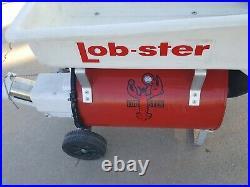 Lobster Tennis Ball Machine Model 401 For Parts & Repair, Motor Runs Needs Seal