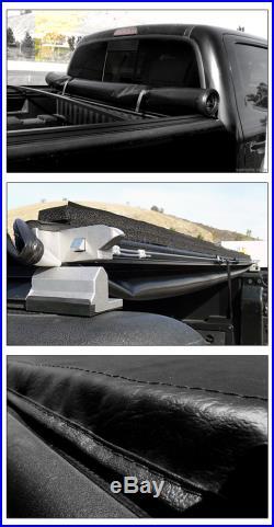 Lock & Roll Soft Tonneau Cover 2007-2014 Chevy Silverado Truck 6.5 78 Cab Bed