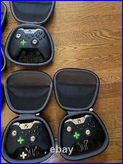Lot of 10 Xbox Elite Controller Series 1- Model HM3-00001 For Parts/salvage