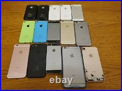 Lot of 15 Apple iPhone Smartphones Mixed Models FOR PARTS ONLY