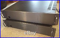 Lot of 2 Used Amplifier, Carver, model # M-1.0t For Parts or Repair FREE SHIPPIN