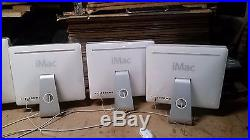 Lot of 30 Apple iMac Computers For parts or repair. Model A1195 17 21