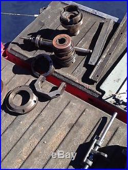 Lot of parts for South Bend 17 Turnado lathe. Model C170E