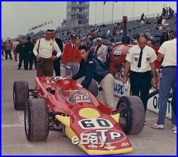 Lotus Race Car with Turbine Engine Motor & Sport Wheel Vintage GP F 1 Indy Model