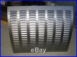 Louvered Rod Gasser Rear Deck Lid Model A 4 louver 7row Square style Rodlouvers