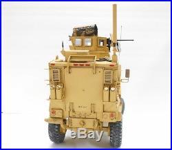 MAXXPRO MRAP 1/16 built model, full interior, hinged doors, custom parts