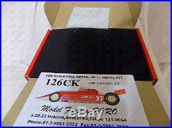 MFH Model Factory Hiro Ferarri 126CK 1981 Canada GP Metal Resin kit K-031 031