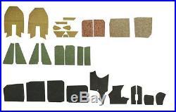 MK2 GOLF Sound deadening kit for under carpet, Mk2 Golf models 84-92 191863919