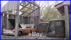 Model Car Junkyard 1/24-1/25 Built Weathered Barn Shed Diorama Scratch Built