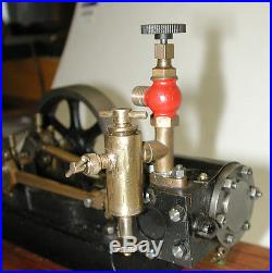 MODEL STEAM ENGINE WITH OILER-WELL MADE-WORKS-AWESOME