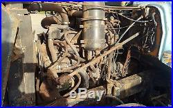 Mack R model parts truck 237 5 speed crd 92 93 4.50 ratio aluminum fuel tanks