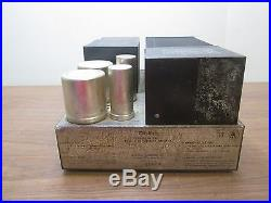 McIntosh Model MC250 Vintage Stereo Amplifier PARTS REPAIR