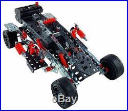 Meccano-Erector Super Construction Set, 25 Models, 640+ Parts New