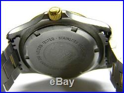 Mens TAG Heuer 2000 date two tone 200m diver watch model 964.006 parts only