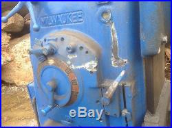 Milwalkee Model H Milling Machine for parts or repair 18,000 pounds