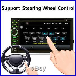Mirror Link Bluetooth Car Stereo DVD CD Player 6.2 Radio SD/USB In-Dash For GPS