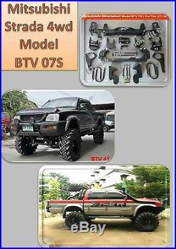 Mitsubishi k74 l200 model 2003 7 inch Heavy Duty BTV suspension lift kit